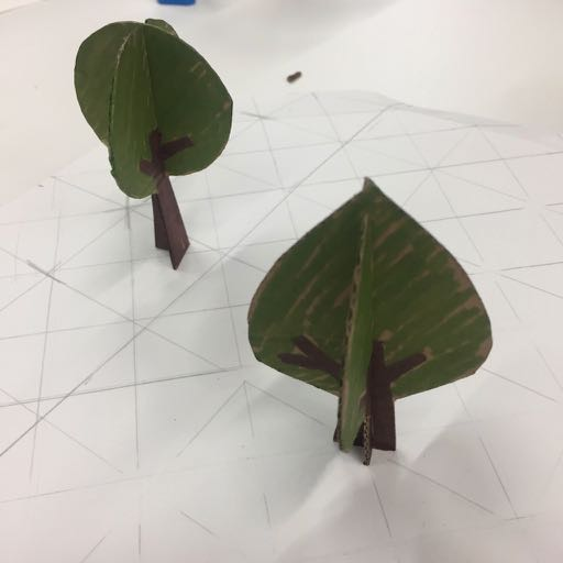 Tree prototypes for the Accomplices game