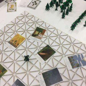 Kiri - game board & pieces