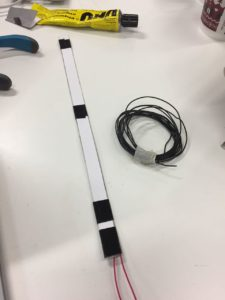 DIY flex sensor test