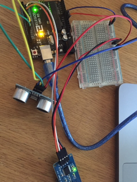 Arduino adventures: triggering MP3 files with distance sensor