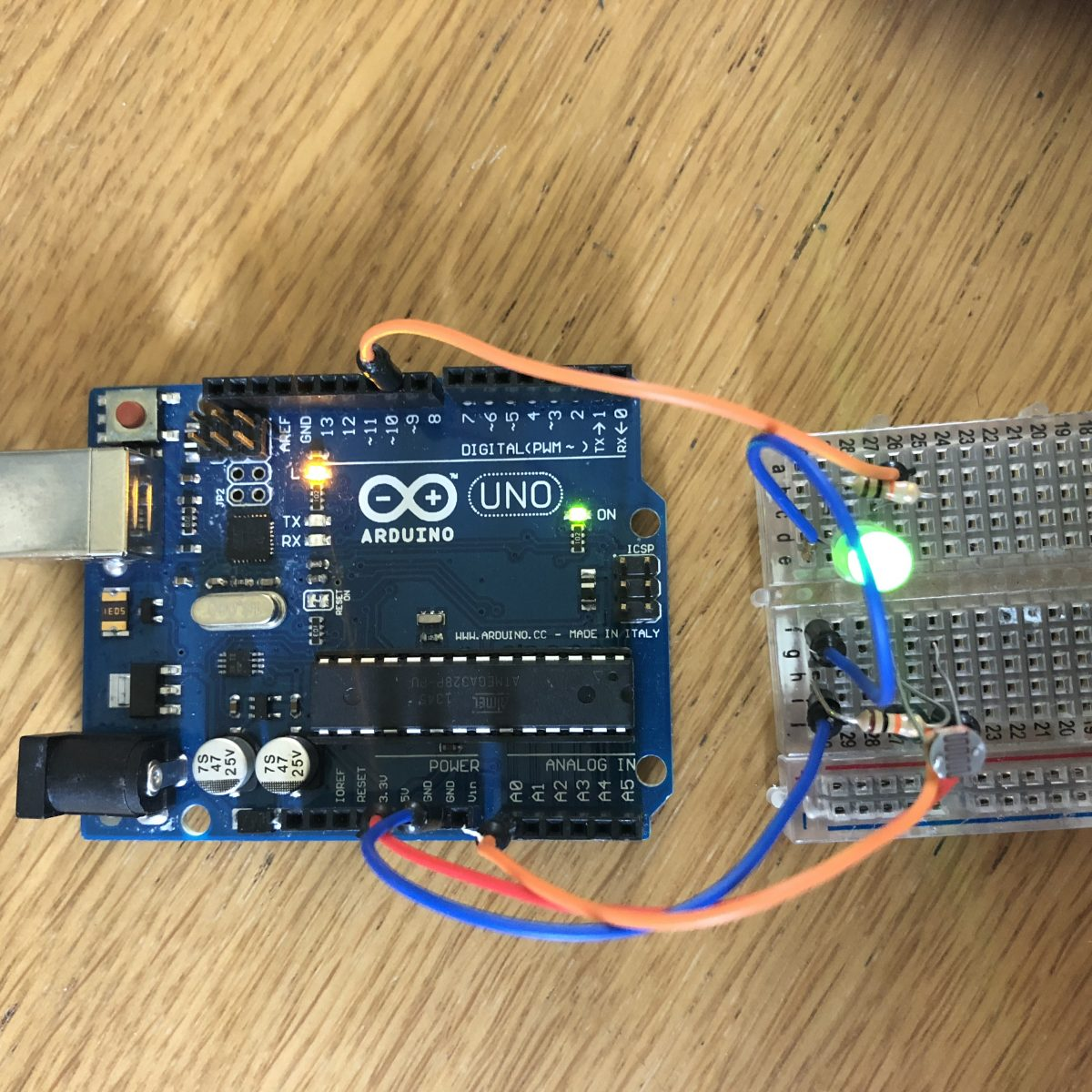 Arduino research 17/05/2018