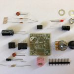 M386 Super MINI Amplifier Board - components